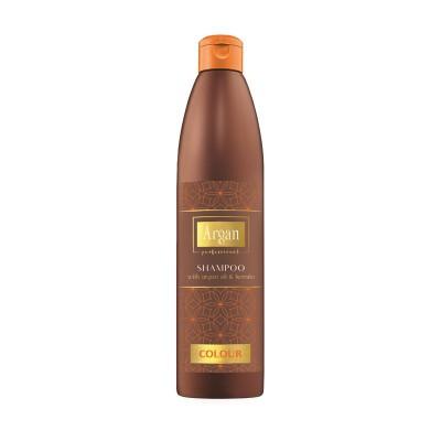 53902 АРГАНОВЫЙ ШАМПУНЬ С КЕРАТИНОМ Д/ОКРАШЕННЫХ ВОЛОС Shampoo with argan oil&keratin Colour 500 мл